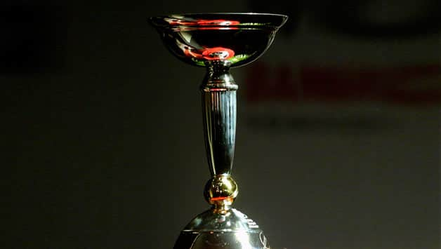 The-U19-Cricket-World-Cup-trophy-is-displayed-during-the-launch-of-the-trophy-and-logo-for-t