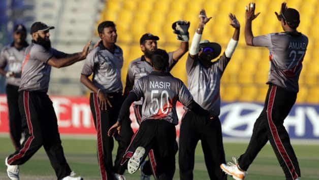 The UAE team consists of 'part-timers' who will compete in ICC World Cup 2015 © Getty Images