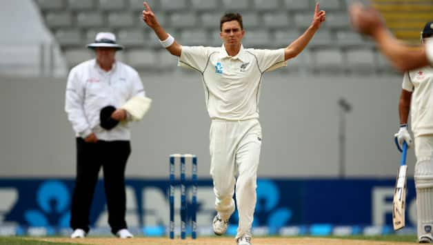 Trent Boult bagged two wickets in the first over of the innings © Getty Images