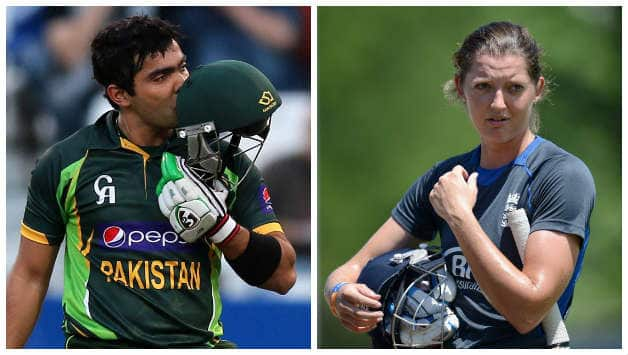 Umar Akmal (left) is hailed as the most talented youngster in Pakistan © AFP & Getty Images