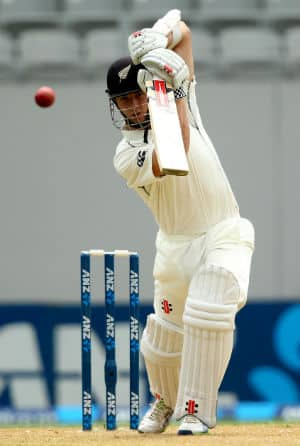 Kane Williamson scored his 11th Test half-century and seventh consecutive fifty across formats © Getty Images