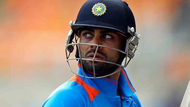 Virat Kohli will be leading a young Indian team in the Asia Cup 2014 as many seniors are either injured or not selected © AFP