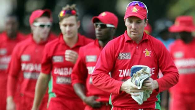 Zimbabwe players have been on loggerheads with their board for a spate of off-field issues © AFP