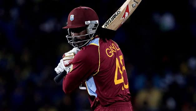 Chris Gayle scored a half-century in West Indies' thumping win © Getty Images (File photo)