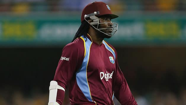 Chris Gayle top-scored with xx © Getty Images (File pic)