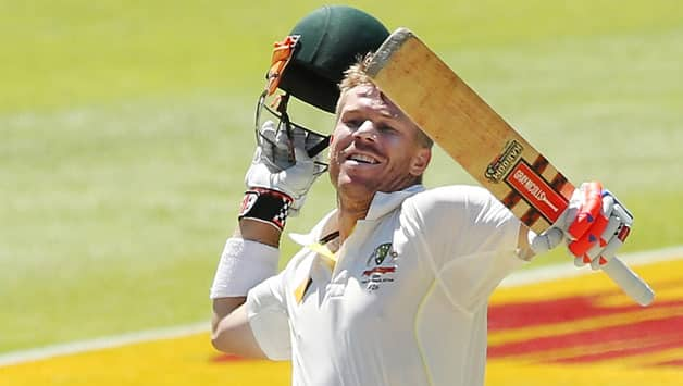 David-Warner-of-Australia-celebrates-after-reaching-100-runs-during-day-4-of-the-third-test-match