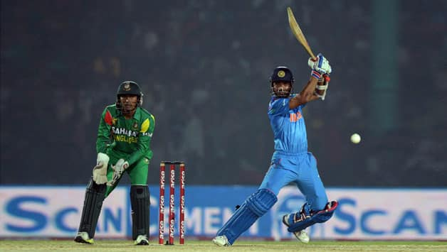 Ajinkya Rahane (batting in picture) has evolved as a batsman in the T20 format © AFP