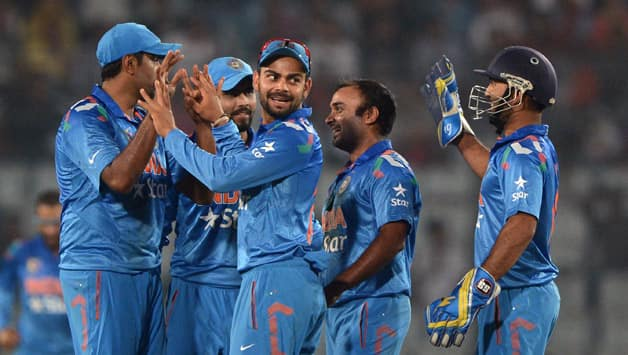 India will look for the consolation win against Afghanistan in their last Asia Cup 2014 match © AFP