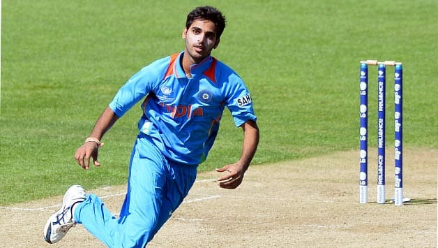 Bhuvneshwar started offf as the brightest swing prospect since the fall of Irfan Pathan © AFP