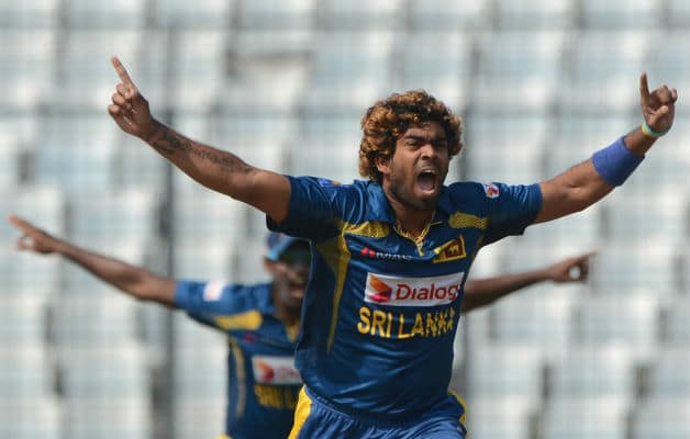 Lasith Malinga picked up five wickets against Pakistan in the Asia Cup 2014 final © AFP
