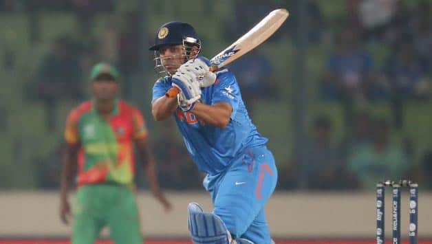 MS Dhoni (batting in picture)