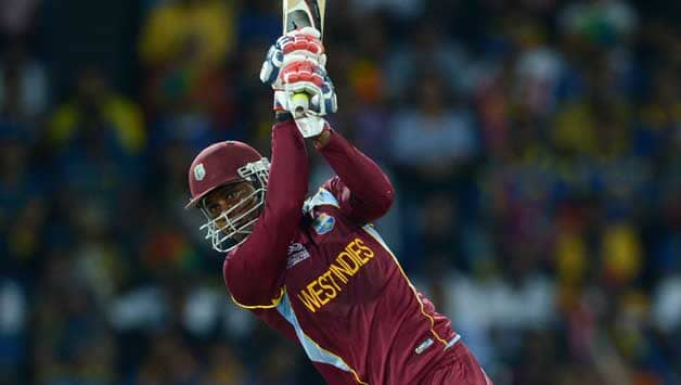 Marlon Samuels came back from injury to score a blistering 69 © Getty Images