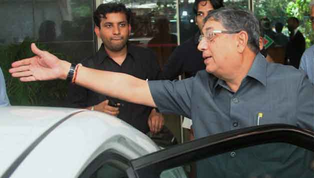 N Srinivasan has been under pressure since Supreme Court issued the warning © PTI