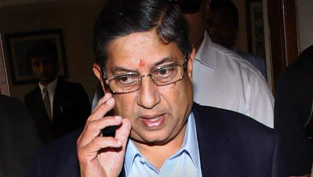 BCCI chief N Srinivasan has been a controversial figure © PTI