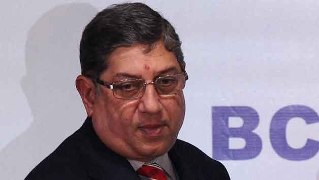N Srinivasan has been asked by the Supreme Court to step down © PTI