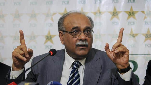 PCB chief Najam Sethi said that Pakistan needed to play against India regularly © AFP