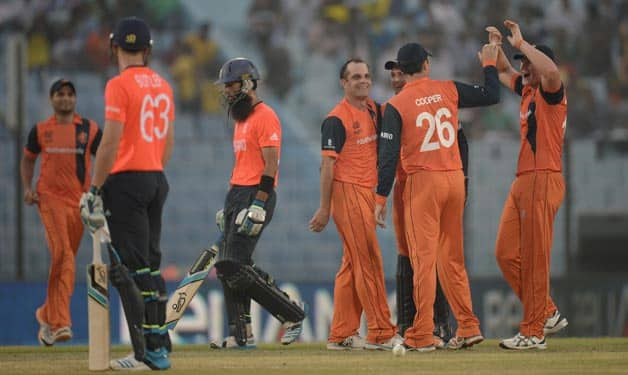 England have lost to Netherlands for the second time in ICC World T20 2014 © Getty Images