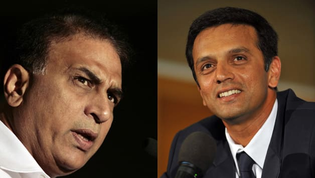 Sunil Gavaskar (left) has turned into a staunch critic of Duncan Fletcher. He even went to the extent of saying that Fletcher has been 1.5/10 and Rahul Dravid would be an ideal coach © AFP