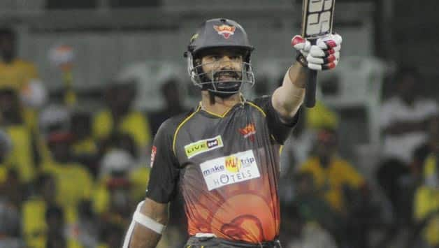 Shikhar Dhawan captained Sunrisers Hyderabad in the CLT20 2013 © IANS