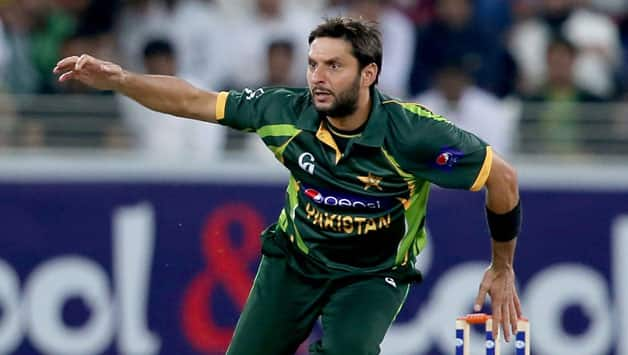 Shahid Afridi has suffered a groin injury © Getty Images