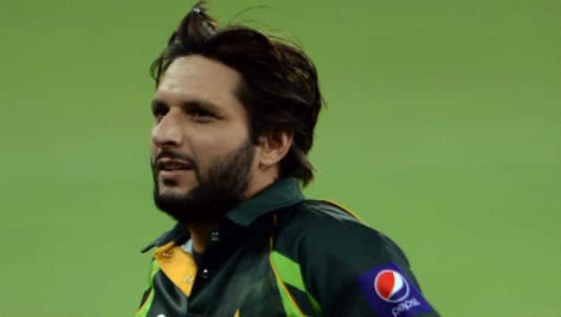 Shahid Afridi has helped Pakistan reach the Asia Cup 2014 final © AFP
