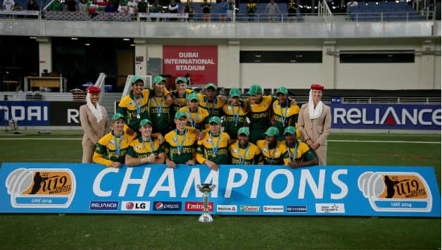 ICC Under-19 World Cup 2014: Chokers tag did not weigh South Africa down