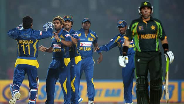 Sri Lanka beat Pakistan in their round robin clash in the Asia Cup 2014 © AFP