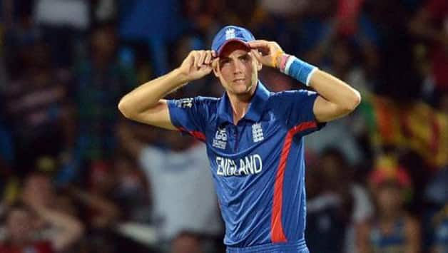 Stuart broad is massively disappointed at England's exit from ICC World T20 2014 © AFP