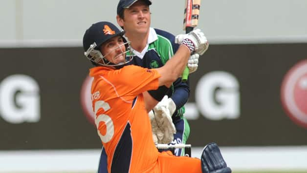 Tom Cooper smashed four sixes in-a-row for the Netherlands against Ireland © Getty Images (File Photo)