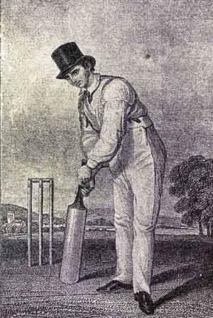 Fuller Pilch played 229 First-Class games and amassed 7,147 runs at 18.61. Photo Courtesy: Wikimedia Commons
