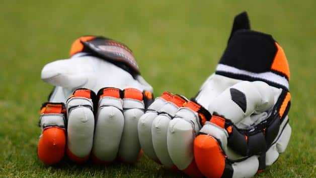 A-pair-of-batting-gloves-are-pictured-on-the-boundary-drying-out-during-day-two-of-th