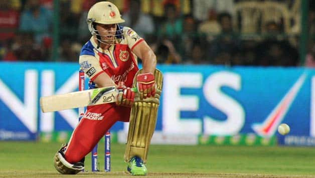AB de Villiers with his innovative shots can shine brightly in IPL 7 © IANS
