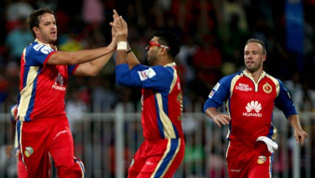 Royal Challengers Bangalore bowled with great control early in the innings © IANS