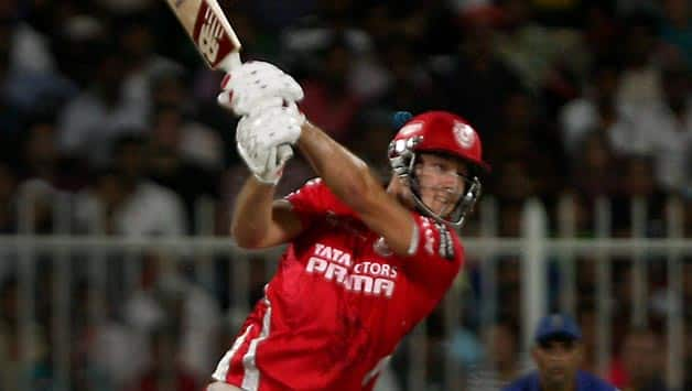 David Miller scored a 19-ball 51 not out for Kings XI Punjab against Rajasthan Royals in IPL 7 © IANS