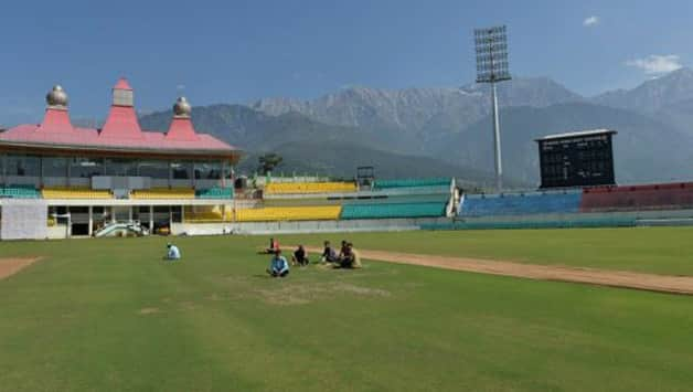 The HPCA alleged that the entire government machinery under the influence of the chief minister, in a midnight swoop October 26 last year, forcibly evicted the HPCA from the Dharamsala stadium © AFP