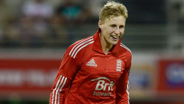 Joe-Root-of-England-celebrates-taking-the-wicket-of-Shaun-Marsh-of-Australia-during-t