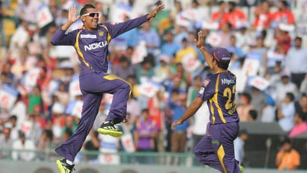 Sunil Narine just did not let Mumbai Indians get going © IANS (File Photo)