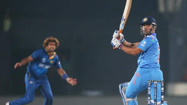Lasith-Malinga-of-Sri-Lanka-looks-on-after-bowling-to-MS-Dhoni-of-India-during-the-Final-of-the-ICC-World-Twenty20-Banglad
