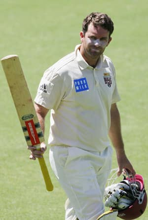 In the 2006-07 season, Martin Love (above) crossed 10,000 runs playing for Queensland going past record-holder Stuart Law © Getty Images