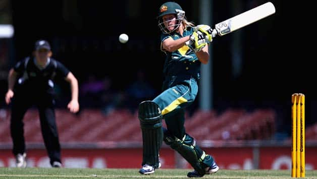 Meg Lanning's (batting) form will be crucial for Australia women against England women © Getty Images