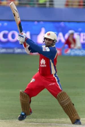Parthiv Patel top-scored for RCB with 57 runs against MI in IPL 2014 © IANS