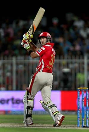 Glenn Maxwell scored 89 off 45 deliveries for Kings XI Punjab © IANS