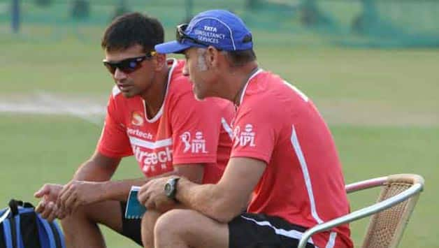 Rahul Dravid is currently the mentor of Rajasthan Royals team © IANS