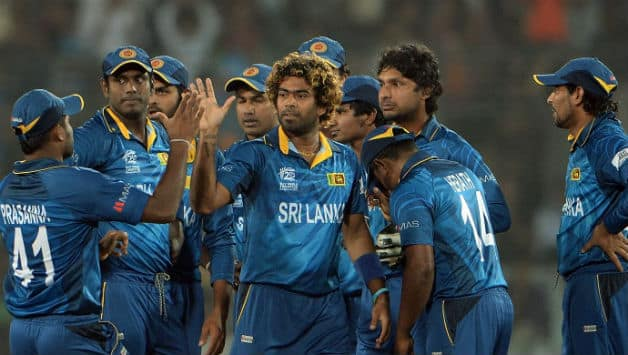 Lasith Malinga had rattled the West Indians by sending back their explosive openers © Getty Images