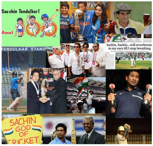 Sachin Tendulkar and his achievements © Getty Images &  AFP
