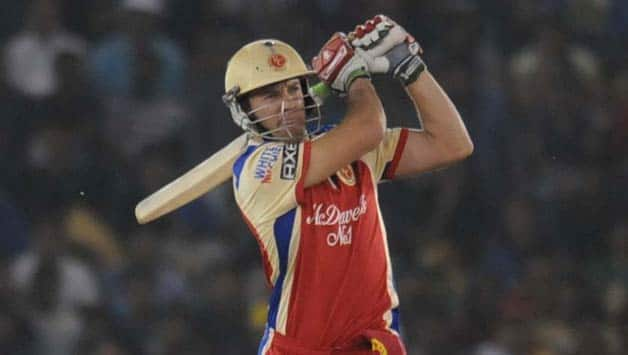 AB de Villiers hit three sixes and a four in the over © IANS (File Photo)