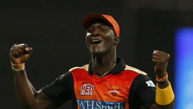 Darren Sammy led West Indies to the World T20 title in 2012 © IANS