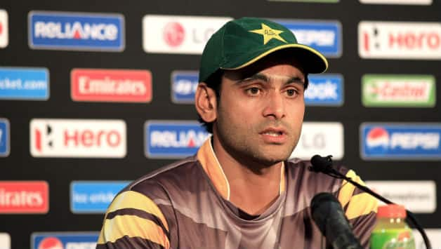 Mohammad Hafeez resigned as the Pakistan after their poor performance in the ICC World T20 2014 © Getty Images