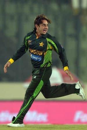 Saeed Ajmal © AFP