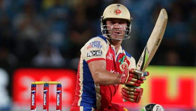 AB de Villiers has become the best finisher for Royal Challengers Bangalore © IANS (File Photo)